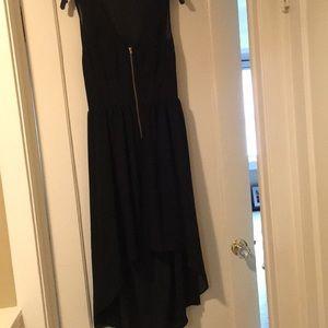 Sans Souci High-Low Open Back Dress
